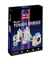 Frank Puzzles -Tower Bridge 3D - 41 Pieces