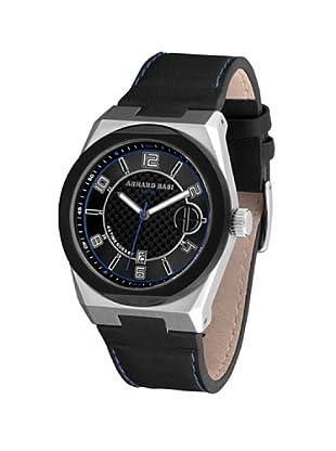 ARMAND BASI A0911G02 - Reloj de Caballero movimiento de cuarzo con correa de piel Negra
