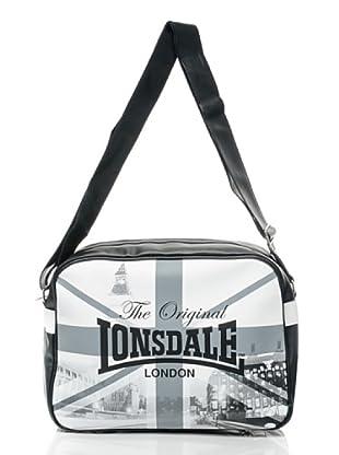 Lonsdale London Borsa Big Ben (Nero/Bianco)