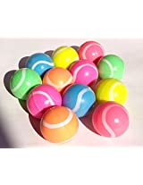 Tennis Bouncy Balls 27mm - 12 count