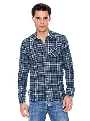 Pepe Jeans London Camisa Soloman (Azul)