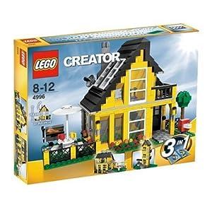 レゴで作った家