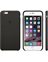 Premium Color Flexible Back Cover Case For Apple iPhone 6 PLUS - Black