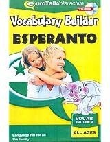 Vocabulary Builder - Esperanto