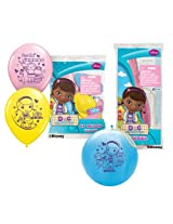 Pioneer National Latex Doc McStuffins Party Pack (6 Balloons/4 Punch Balls)