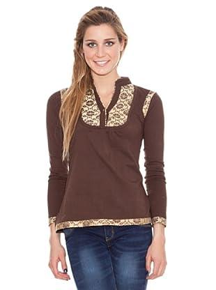 HHG Camiseta Bertha (marrón)