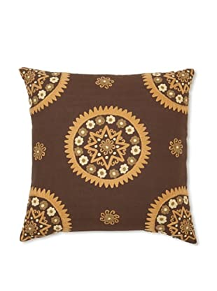 Better Living Medallion Pillow (Brown)