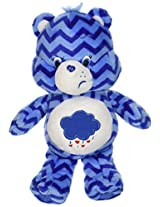 Just Play Care Bears Chevron Bean Plush, Grumpy