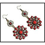 Relentlessly Red Earrings