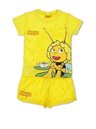Licencias Pijama Abeja Maya (Amarillo)