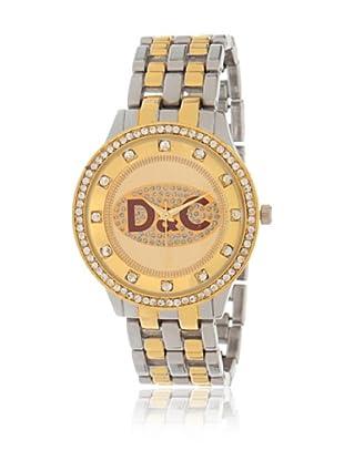 My Silver Reloj Reloj Combinado D&C
