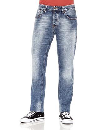 Nudie Jeans Pantalón Sharp Bengt (Azul lavado)