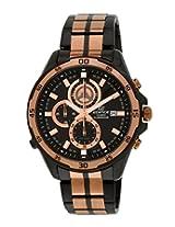 Casio Edifice Analog Black Dial Men's Watch - EX253