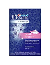 Crest 3D White Whitestrips Gentle Routine - Teeth Whitening Kit 28 Treatments