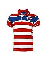 Lumber Boy LB13522RD Boys Blended T-Shirt (Size : 9-10 Years)