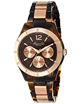 Kenneth Cole Analog Brown Dial Men's Watch - IKC0003