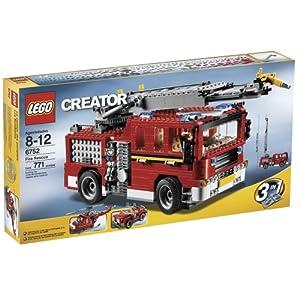 レゴ クリエイター 消防車 6752
