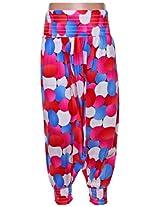SAPS - Mix Color Print Herem Pants