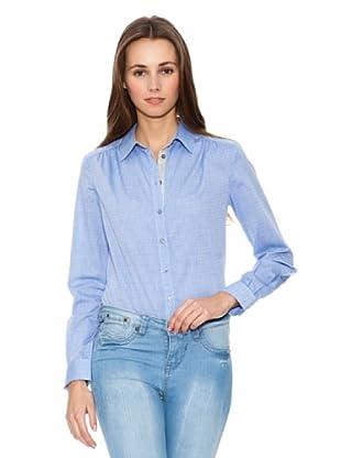 Mango Camisa Blue (Celeste)