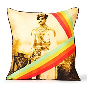 "Neo Nawab Emperorâ€TMs Court Cushion Cover - 16"" x 16"""