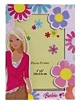 Barbie Flower Design Pink Photo Frame