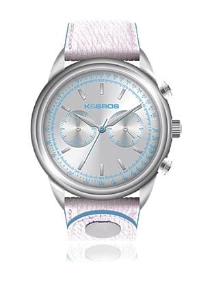 K&BROS Reloj 9491 (Blanco)