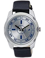 Fastrack Casual Analog Silver Dial Men's Watch - 3123SL01