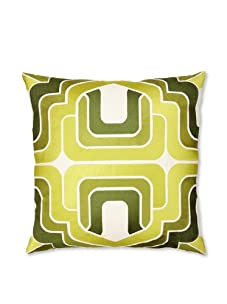 Trina Turk Embroidered Ogee Pillow (Green)