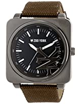 Zoo York Men's ZY1077 Core Street Analog Display Analog Quartz Brown Watch