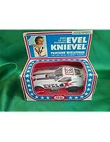 1976 EVEL KNIEVEL VINTAGE IDEAL no. 4306-7 DIE CAST FUNNY CAR in original box