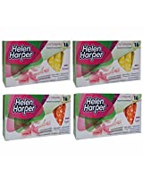Helen Harper Normal and Super Non-Applicator Tampons (Pack of 4)