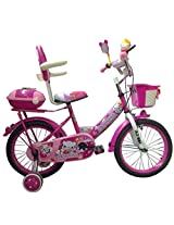 HLX-NMC KIDS BICYCLE 16 BOWTIE PINK/WHITE