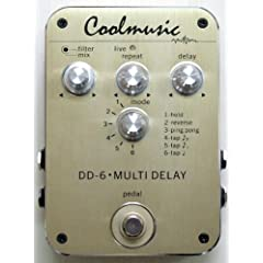 Coolmusic DD-6 MULTI DELAY
