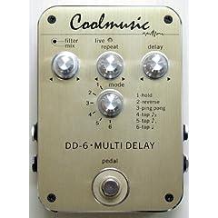 Coolmusic DD-6 MULTI DELAY