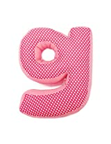 One Grace Place Simplicity Hot Pink Letter Pillow