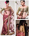 STYLELOK Priyanka Chopra Saree SL 95268 | Color Beige