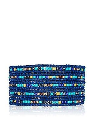 Lucie & Jade Armband  dunkelblau