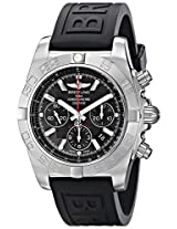 Breitling Men's BTAB011010-BB08BKPT Chronomat 44 Flying Fish Analog Display Swiss Automatic Black Watch