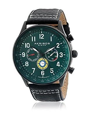 Akribos XXIV Uhr mit schweizer Quarzuhrwerk Man 45 mm