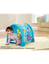 Luxury 3 Way Kick & Crawl Play Gym with Innovative Tunnel Hood