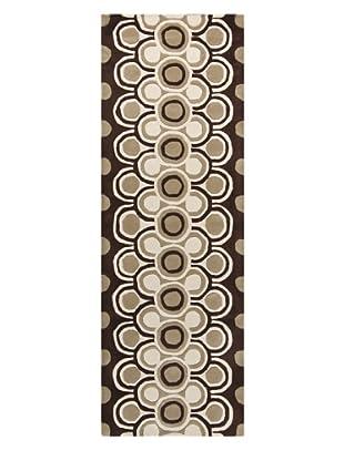Chandra Fresca Rug, Brown, 2' 6