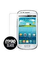 MPERO Premium Tempered GLASS Screen Protector for Samsung Galaxy S3 Mini