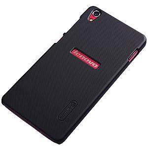 Nillkin Hard Back Case Cover for Lenovo S850 + Screenguard - Black
