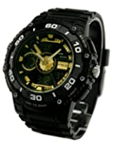 Q&Q Attractive Analog-Digital Black Dial Men's Watch - DE10J502Y