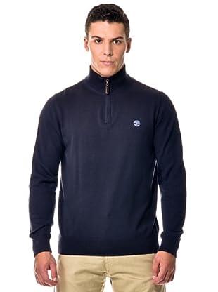 Timberland Jersey Punto M/L algodón (Azul oscuro)