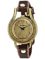 Aveiro Analog Gold Dial Women's Watch - AV67RED