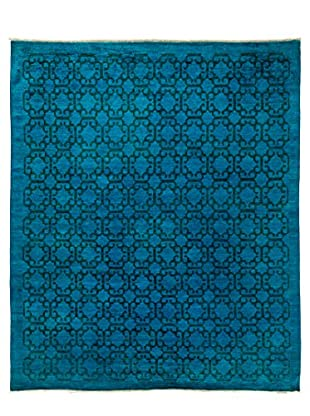 Darya Rugs Transitional Oriental Rug, Blue, 9' 3
