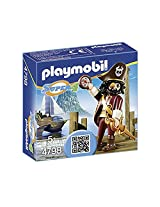 PLAYMOBIL Super 4 Sharkbeard Figure Building Kit