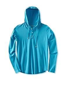 Spenglish Men's Hoodie (Neon Blue)