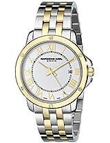 Raymond Weil Women's 5391-STP-00308 Tango Analog Display Swiss Quartz Two Tone Watch